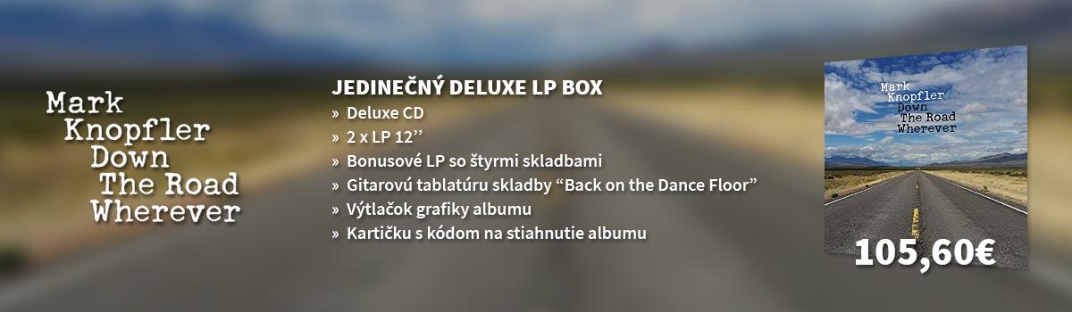 Mark Knopfler - Down the Road Wherever - jedinečný LP box