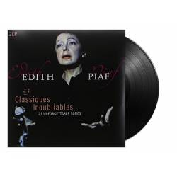 Vinyl Edith Piaf - 23 Classiques Inoubliables: The Best of, Vinyl Passion, 2014, 2LP, 180g